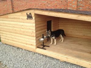 Самодельная будка для собаки