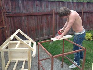 Как собрать будку для собаки