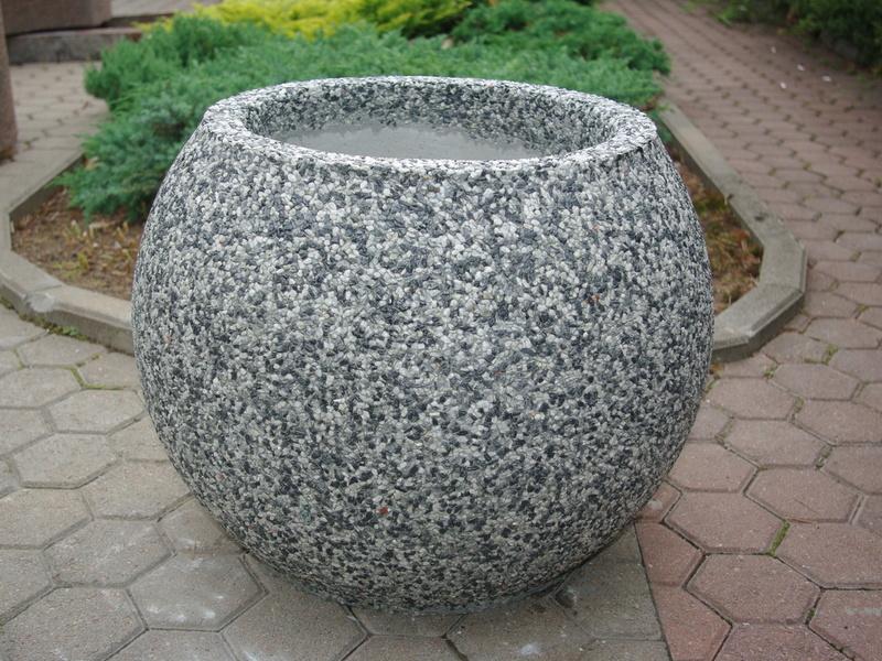Вазоны из бетона формы