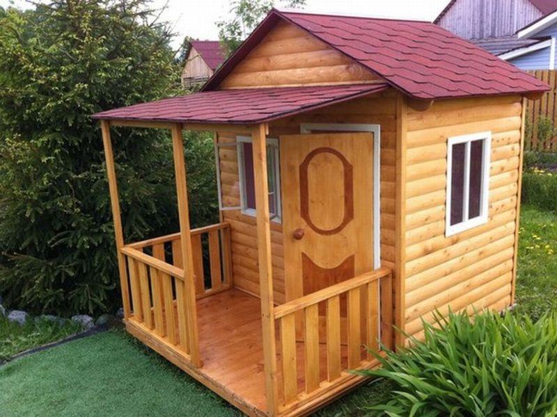 Как сделать детскую домик на даче своими руками 650