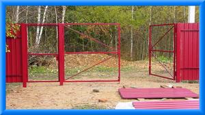 Инструменты для установки ворот