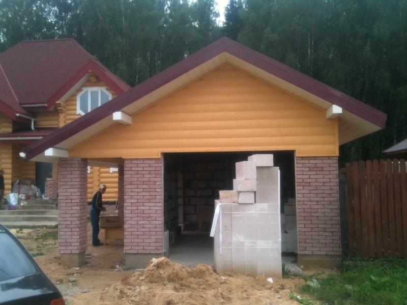 Построить гараж из пеноблока