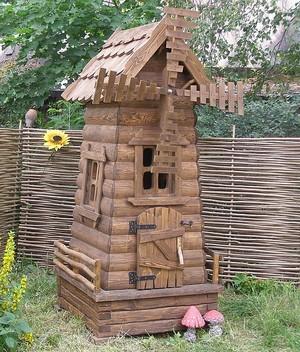 Изготовление садовых мельниц