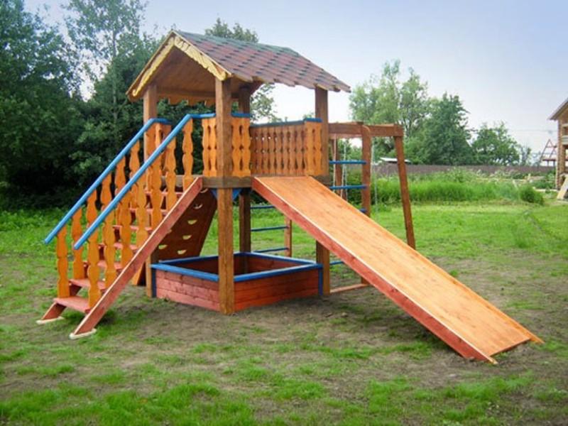 Как построить детский городок