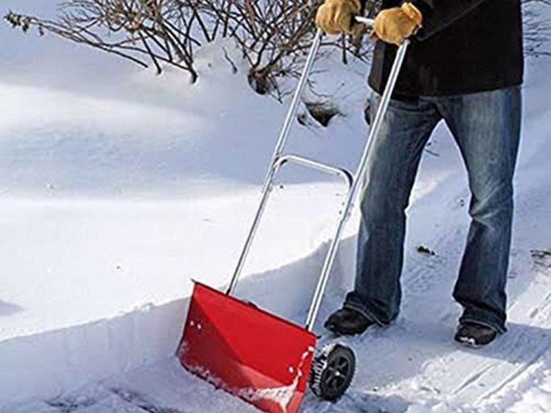 Как сделать лопату снега 737