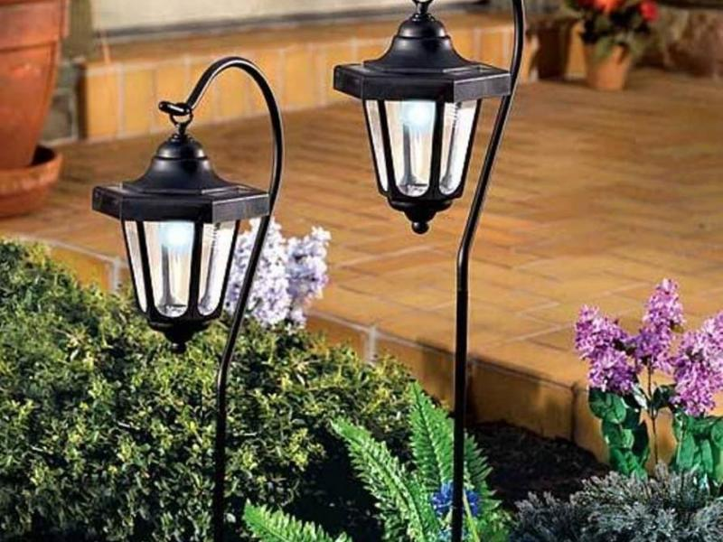 Светильники в сад своими руками 59