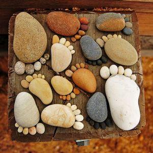 Морские камни: поделки из камней и речной гальки
