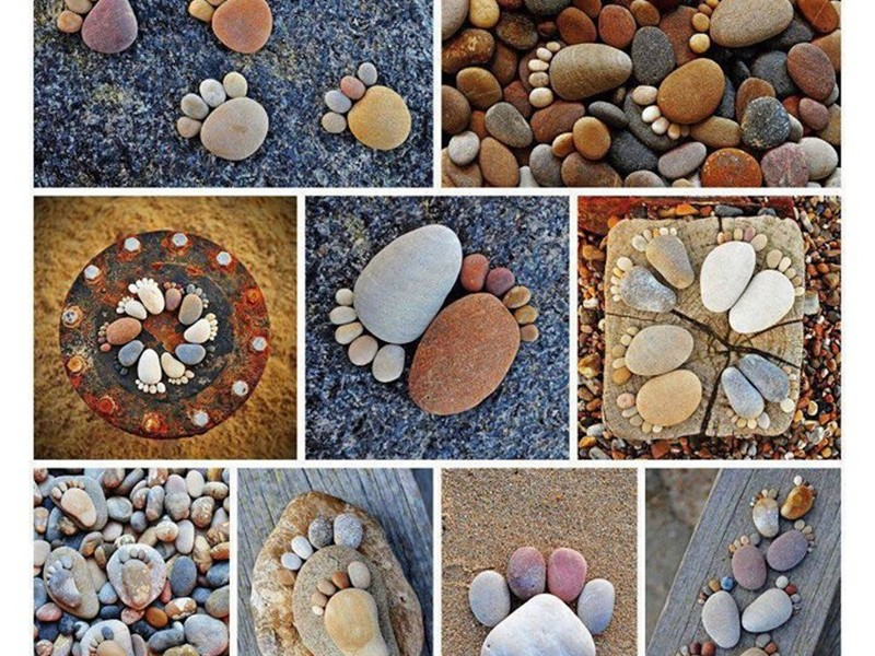 Поделки из морских камней