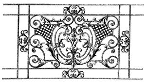 Варианты кованых заборов