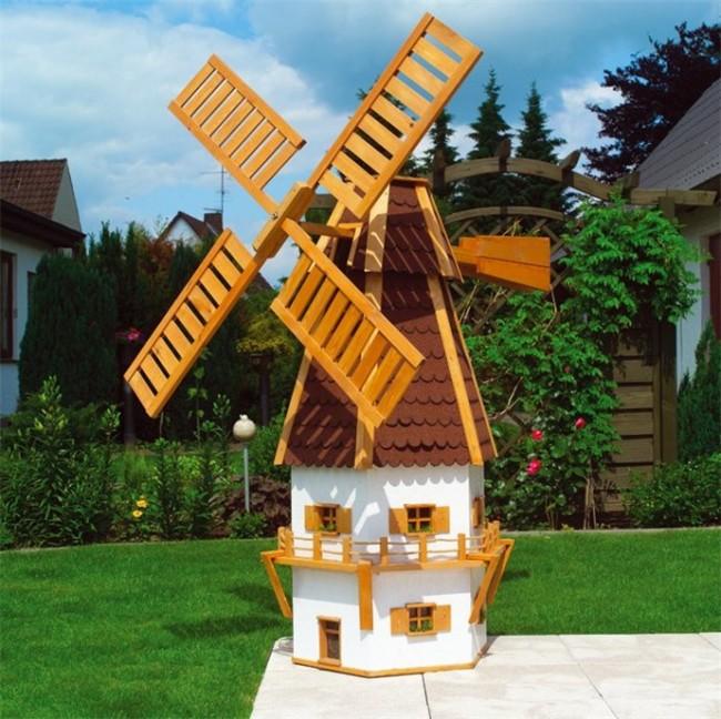 Ветряная мельница для дачи своими руками 94