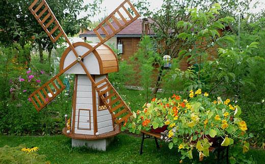 Мельница на огороде своими руками 98