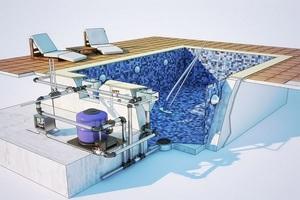 Этапы постройки бассейна на дачном участке своими руками