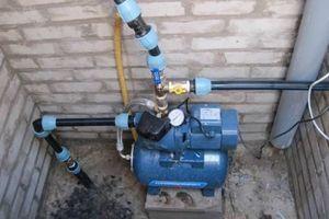 Подключение гидрофора к скважине