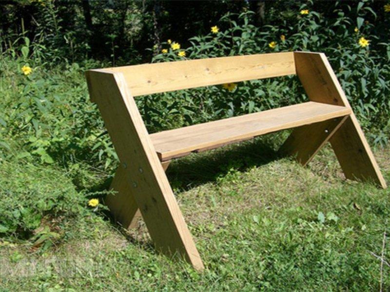 нереального фундаментального как самому построить скамейку фото именно