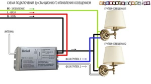 Как сделать дистанционное управление освещением