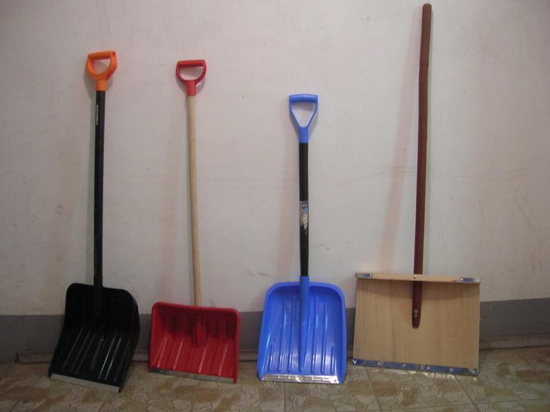 Чудо лопата для уборки снега
