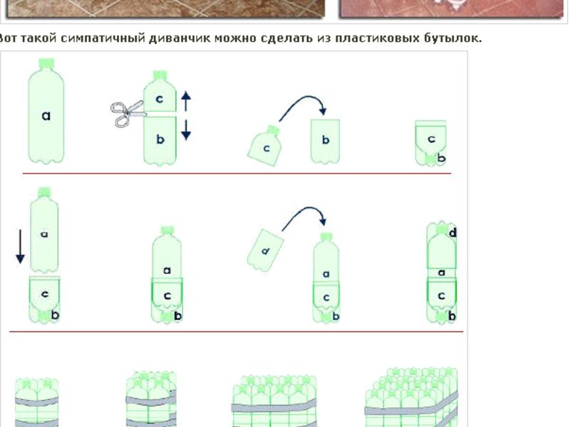того, что как сделать стол из пластиковых бутылок картинки качестве