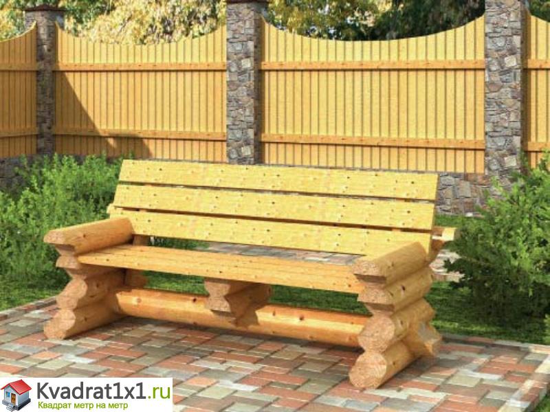 Деревянные садовые скамейки для дачи из подручных материалов