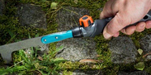 серп для удаления травы