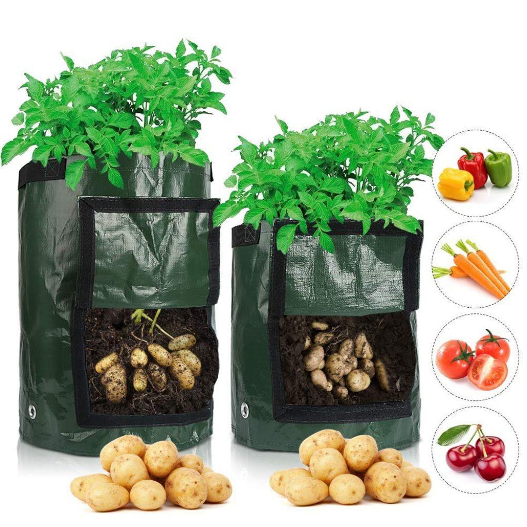 вертикальная грядка для картофеля