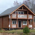 Дома из профилированного бруса: фото, проекты, материалы