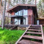 Проект бани с домом под одной крышей: фото, виды, материалы