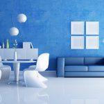 Сочетания голубого цвета в интерьере: фото, комнаты, цвета и оттенки