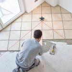 Укладка плитки по диагонали ⭐ фото, виды укладок, инструкция, сравнение