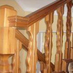 Перила для лестницы: фото, виды конструкций, материалы