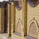 Красивый забор: фото, внешний вид, конструкция, материалы