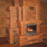 Печь-камин из кирпича: фото, виды, особенности