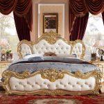 Французская кровать: фото, отличия стиля, материалы
