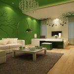 Идеи зеленого цвета в интерьере: фото, оттенки, сочетания