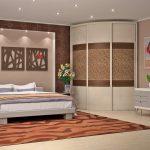 Угловой шкаф в спальню: фото, плюсы и минусы