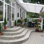 Патио на даче: фото, виды, размеры и форма, выбор материала