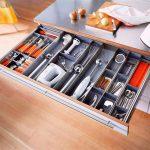 Лоток для столовых приборов в ящик: фото, виды, как выбрать