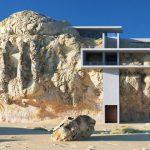 Дом в скале: фото, проект, история, описание и особенности