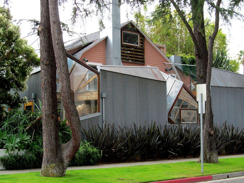 Резиденция Фрэнка Гери, Санта-Моника, Калифорния