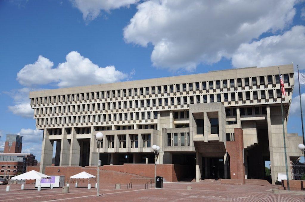 Бостон Сити Холл. Бостон, Массачусетс