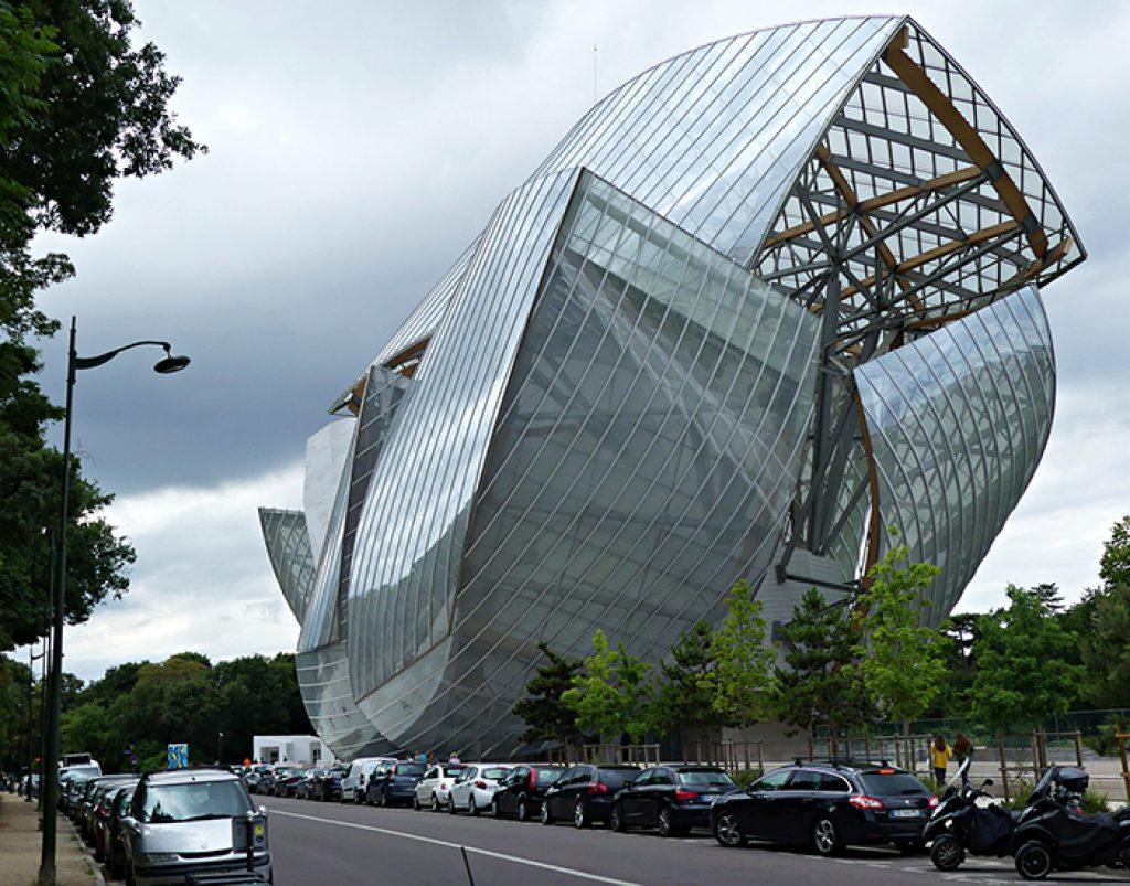 Фонд Луи Виттон, Париж, Франция