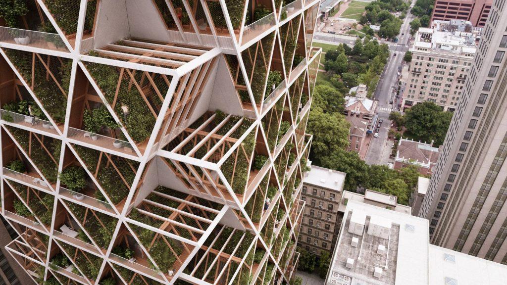The farmhouse vertical farm apartment