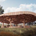 Бревенчатый павильон Ксилема: фото, история проекта, особенности