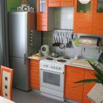 Малогабаритная кухня в хрущёвке: фото, дизайн, оформление