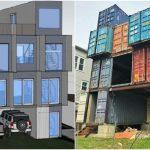 Дом из транспортных контейнеров: фото, проект, преимущества