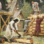 Строительство в древней Руси: традиции, обряды, ритуалы