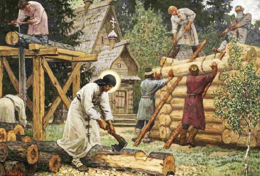 создать эффект картинка труд в древности нужен