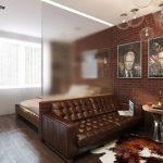 Перепланировка однокомнатной квартиры в двухкомнатную: примеры
