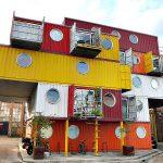Посёлок из контейнеров: фото, применение, польза, проект