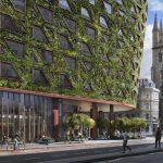 Отель Citicape House в Лондоне: фото, внешний вид, зеленый фасад