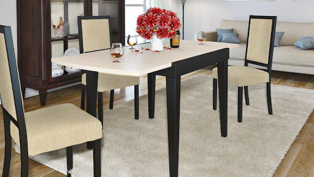 Обеденные столы: стили и разновидности моделей